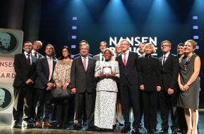 iWitnesses at the 2013 Nansen Refugee Award