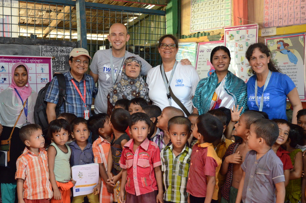 Long Beach Primary School Kutupalong Refugee Camp_Gaitrie Ammersing - by UNHCR