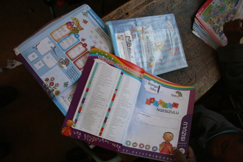 Basic Education Workbooks. Photographer: Mike Creevy
