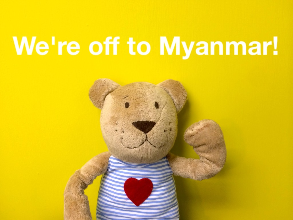 Myanmar, here we come! - by Flora Chan