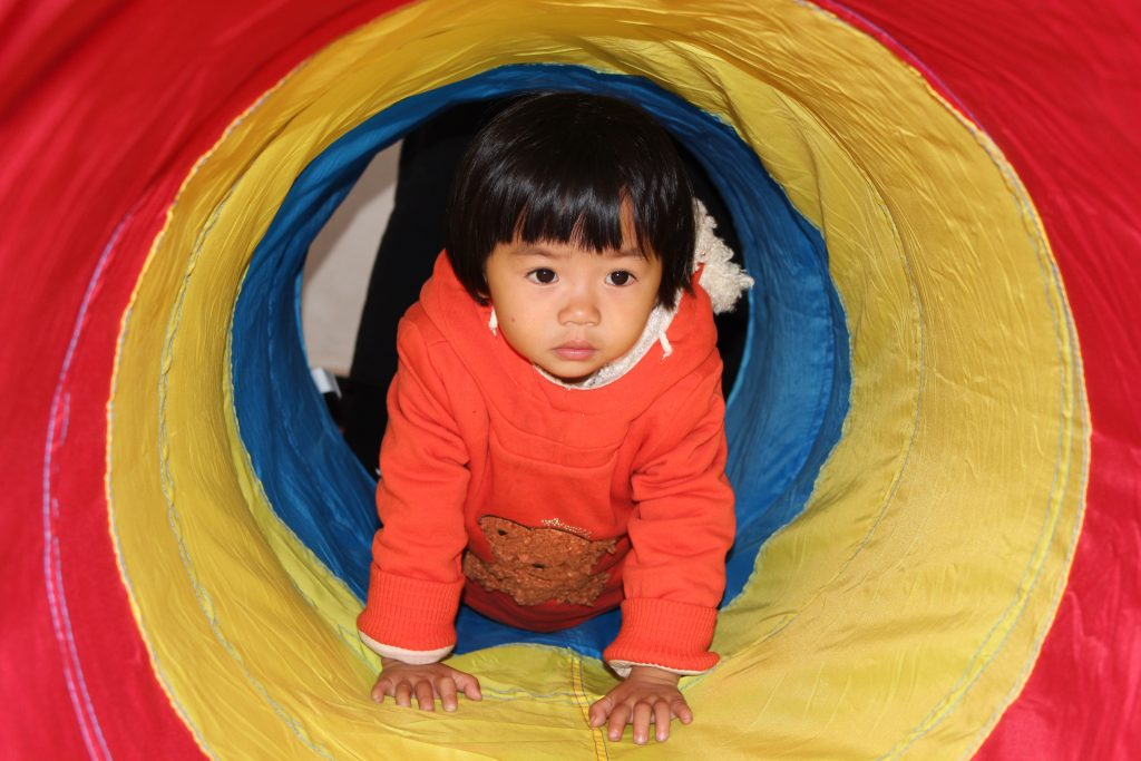 Child at Ai Jia Village ECD