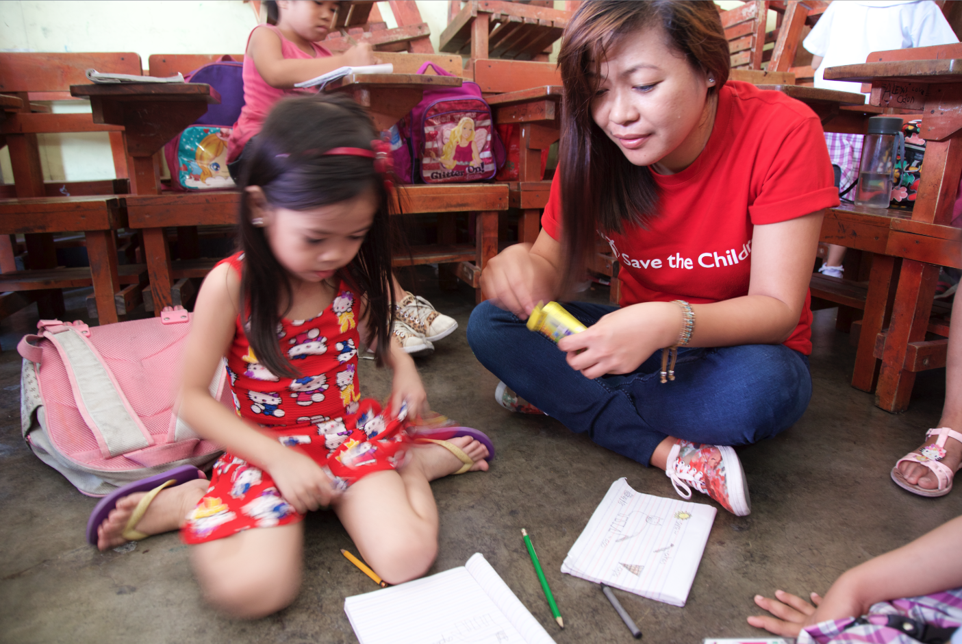 Project photo from Save the Children