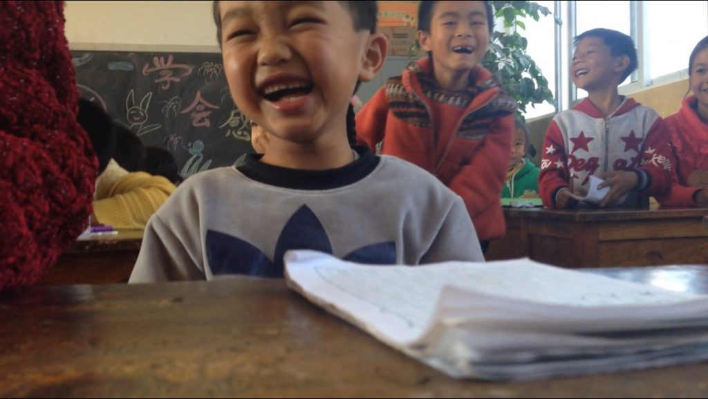 Laughter that warms the heart, Gucheng Primary School