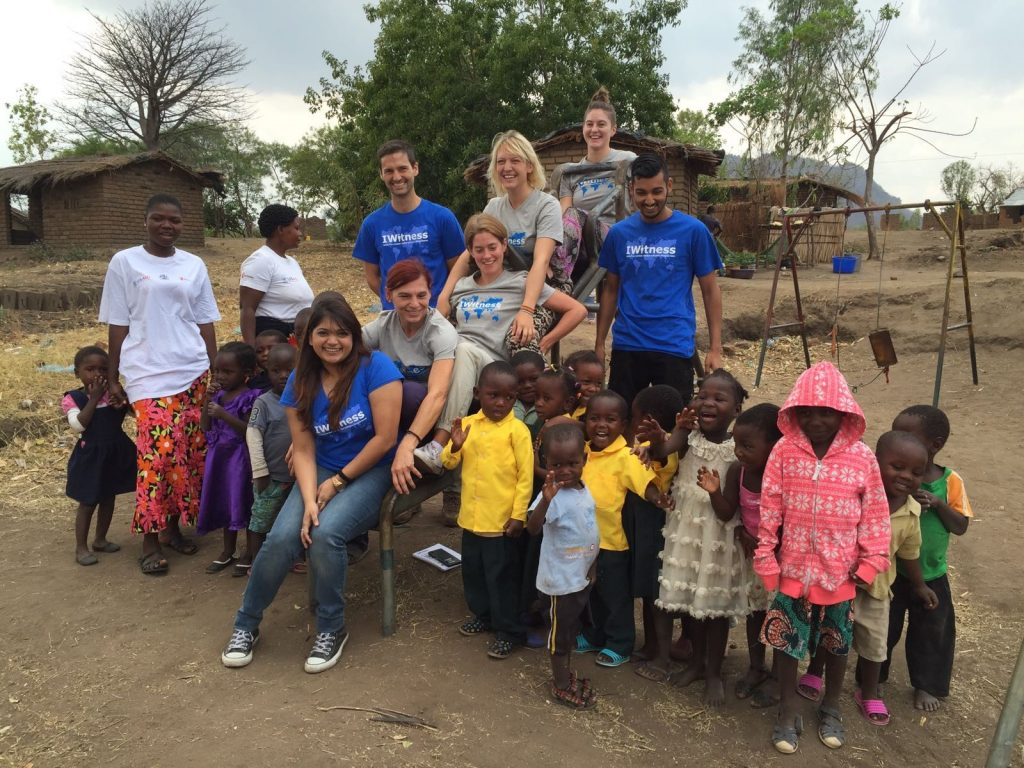 20 September 2016. Kay from IKEA Dubai and Luca, Sandra, Natalie, Michelle, Annetta and Norbin from IKEA Switzerland were invited by UNICEF Malawi to visit a number of programmes run by UNICEF to improve access to and the quality of children's education. Photo by Elizabeth Karagiannis