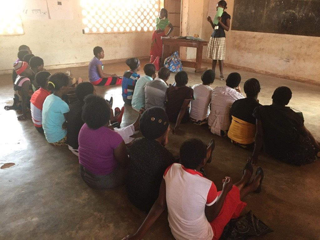 September 20, 2016. Young adults that dropped out of elementary school - often because of pregnancy or poverty - get a second chance with a nine-month literacy course supported by UNICEF. Taken by Natalie
