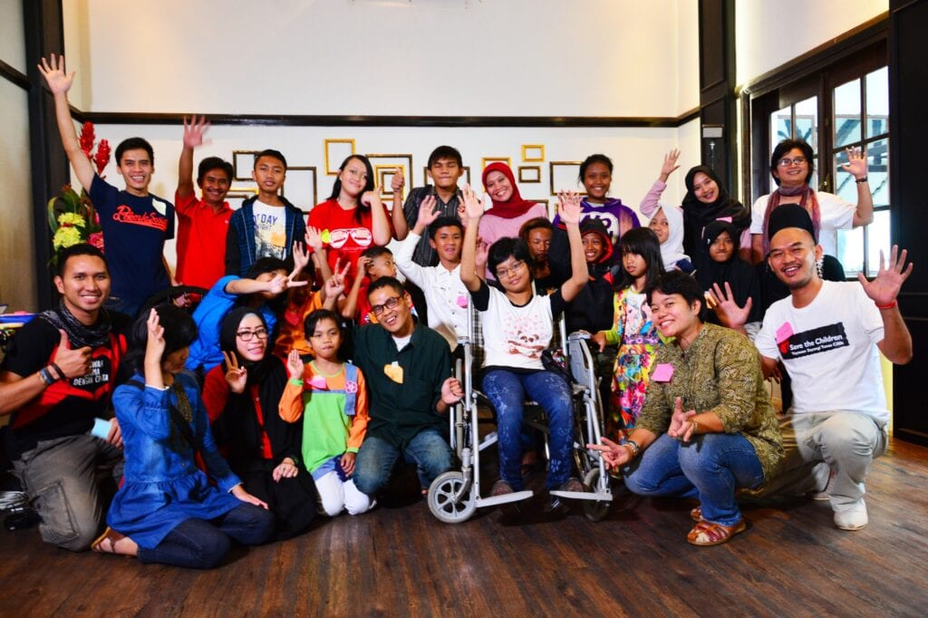 Children With Disabilities And >> Inclusive Education For Children With Disabilities In Indonesia