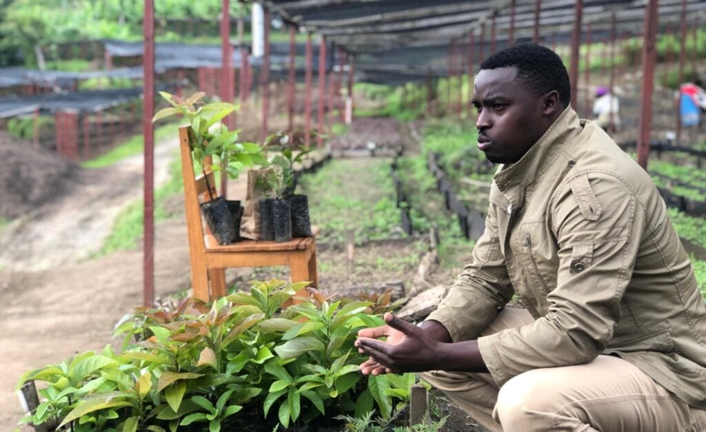 Eric Niyonsaba, Tree Nursery Director