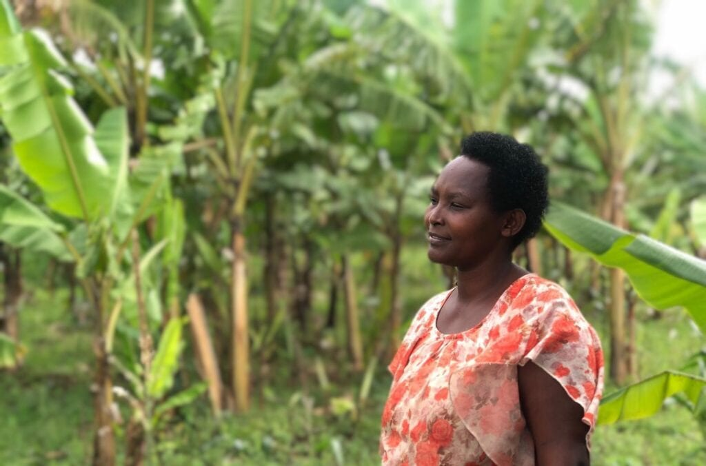 Nirere Josephine One Acre Fund farmer
