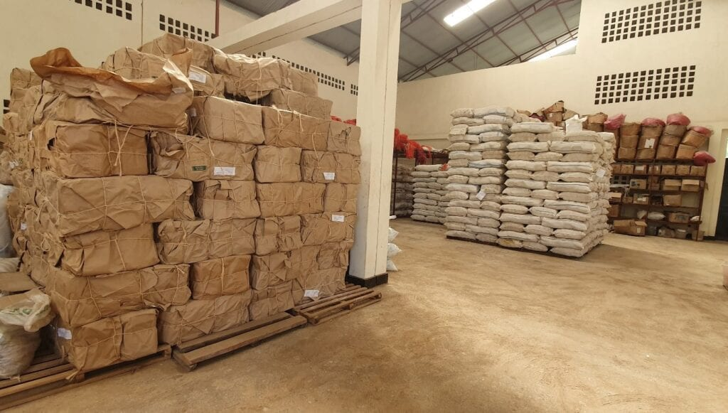 Warehouse One Acre Fund Rwanda