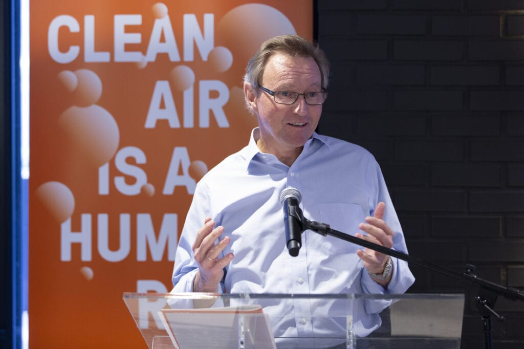 Per Heggenes at launch of Clean Air Fund, Climate Week 2019